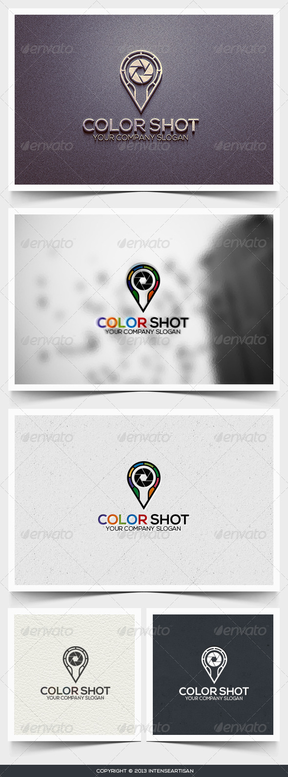 Color Shot Logo Template  - Objects Logo Templates