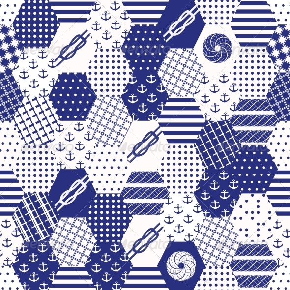 GraphicRiver Colorful Patchwork Seamless Patterns 6449475