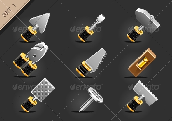 GraphicRiver Yellow Instruments 6449844