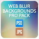Web Blur Backgrounds Bundle Pack - GraphicRiver Item for Sale