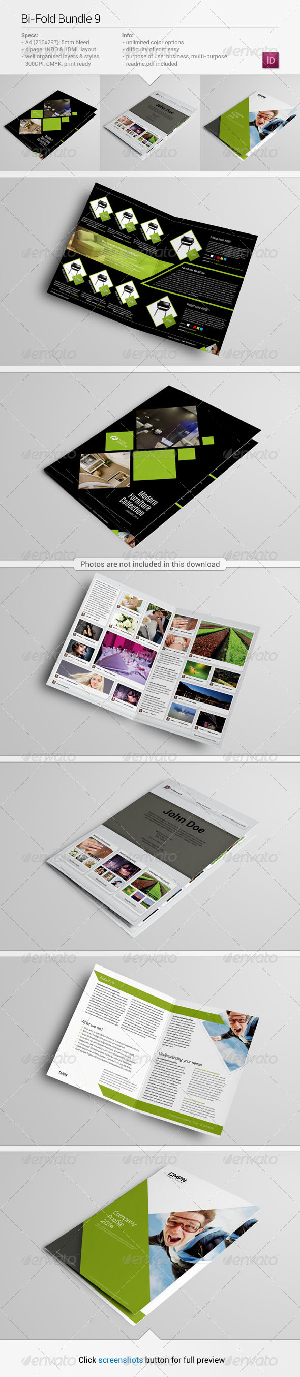 GraphicRiver Bi-Fold Bundle 9 6449975