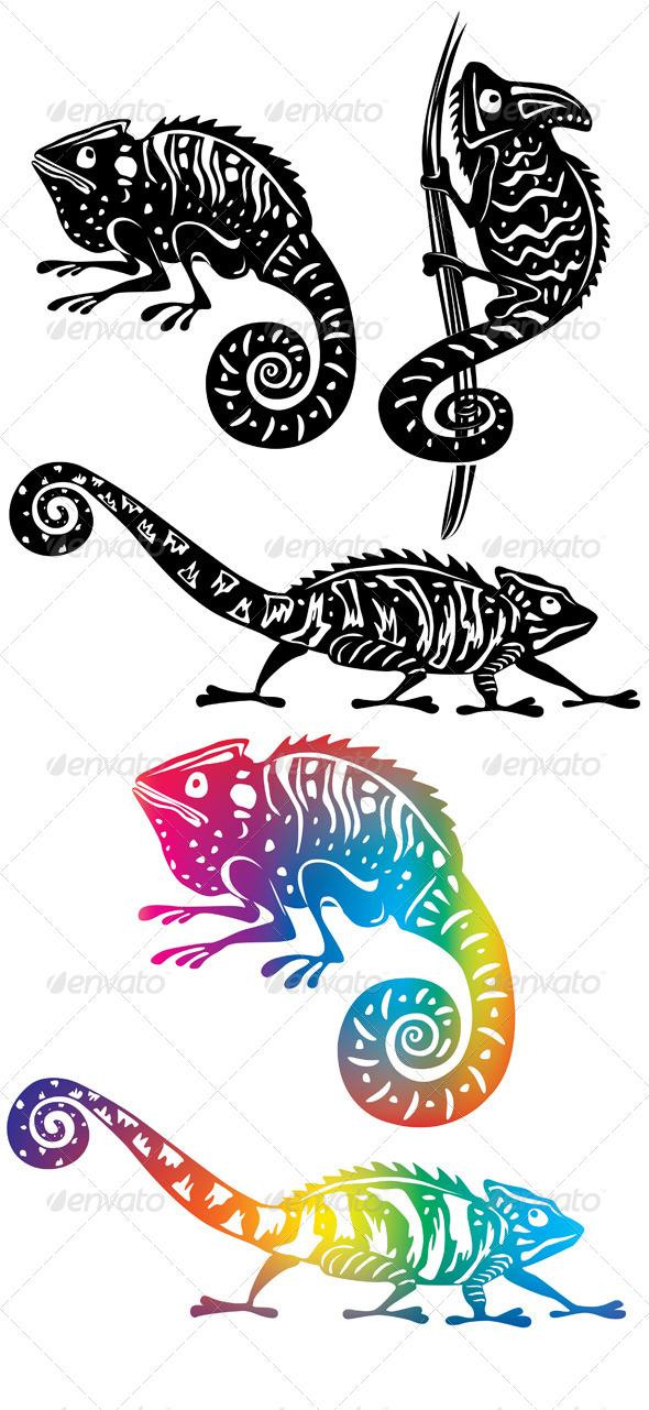 GraphicRiver Chameleons 6450591