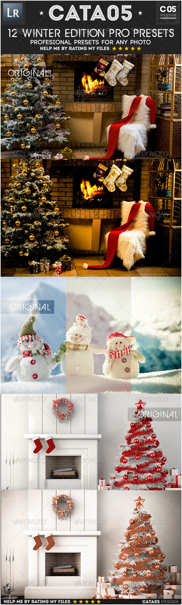 GraphicRiver 12 Winter Edition Pro Presets 6450711