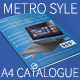 Metro Style A4 Product Catalogue - GraphicRiver Item for Sale