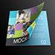 Square Magazine / Catalog Mock-Up - GraphicRiver Item for Sale