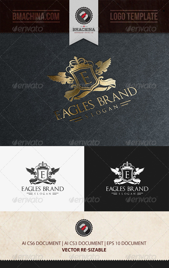 GraphicRiver Eagles Brand Logo Template 6452231