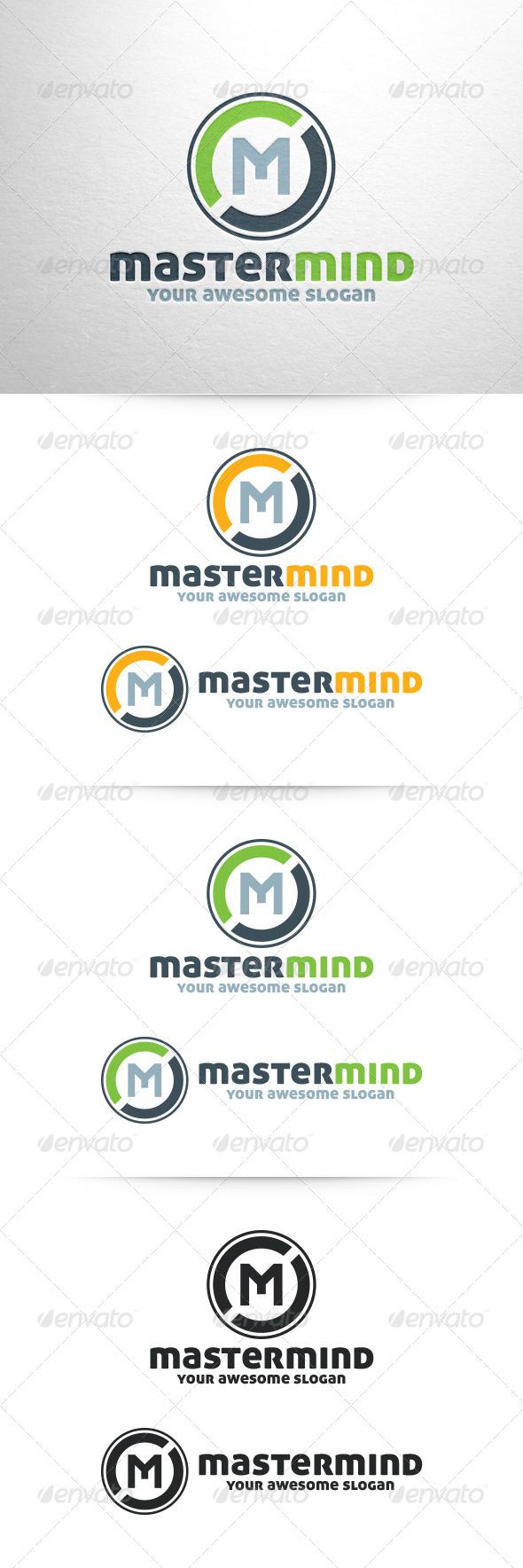 GraphicRiver Master Mind Letter M Logo Template 6452274