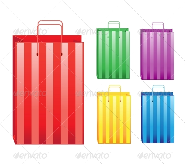 GraphicRiver Shopping Bags 6452347