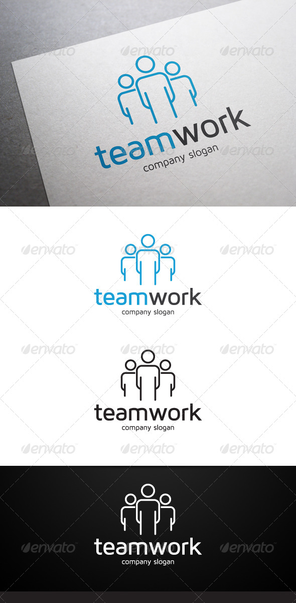 GraphicRiver Teamwork Logo 6452491
