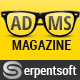 Adams Magazine - Responsive Magazine/Blog Theme - ThemeForest Item for Sale