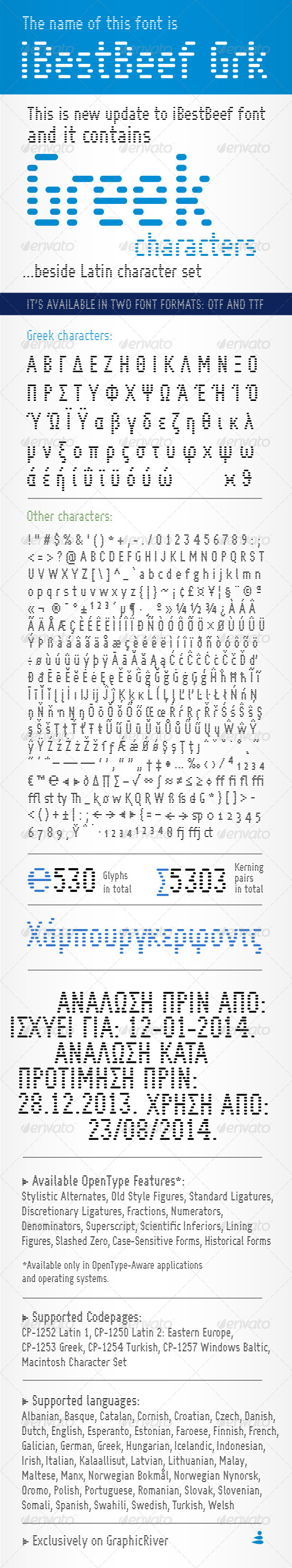 GraphicRiver iBestBeef Grk font 6453626