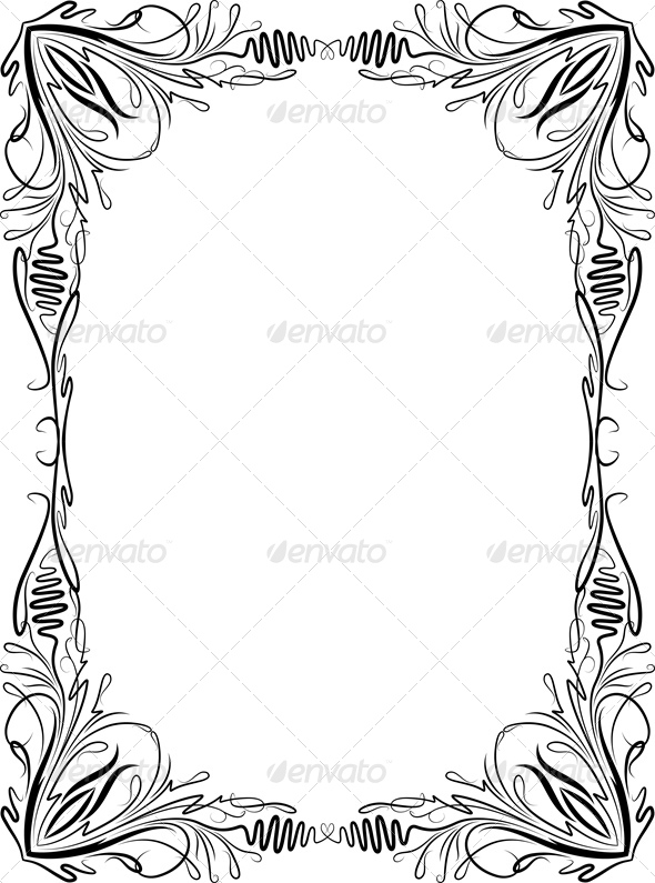 GraphicRiver Decorative Frame 6459413