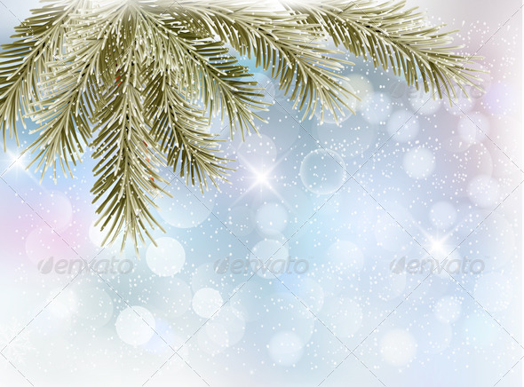 GraphicRiver Christmas Background 6460061