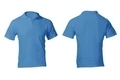 Men's Blank Blue Polo Shirt Template - PhotoDune Item for Sale