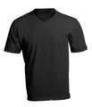 Men's Blank Black V-Neck Shirt Template - PhotoDune Item for Sale