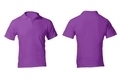 Men's Blank Purple Polo Shirt Template - PhotoDune Item for Sale