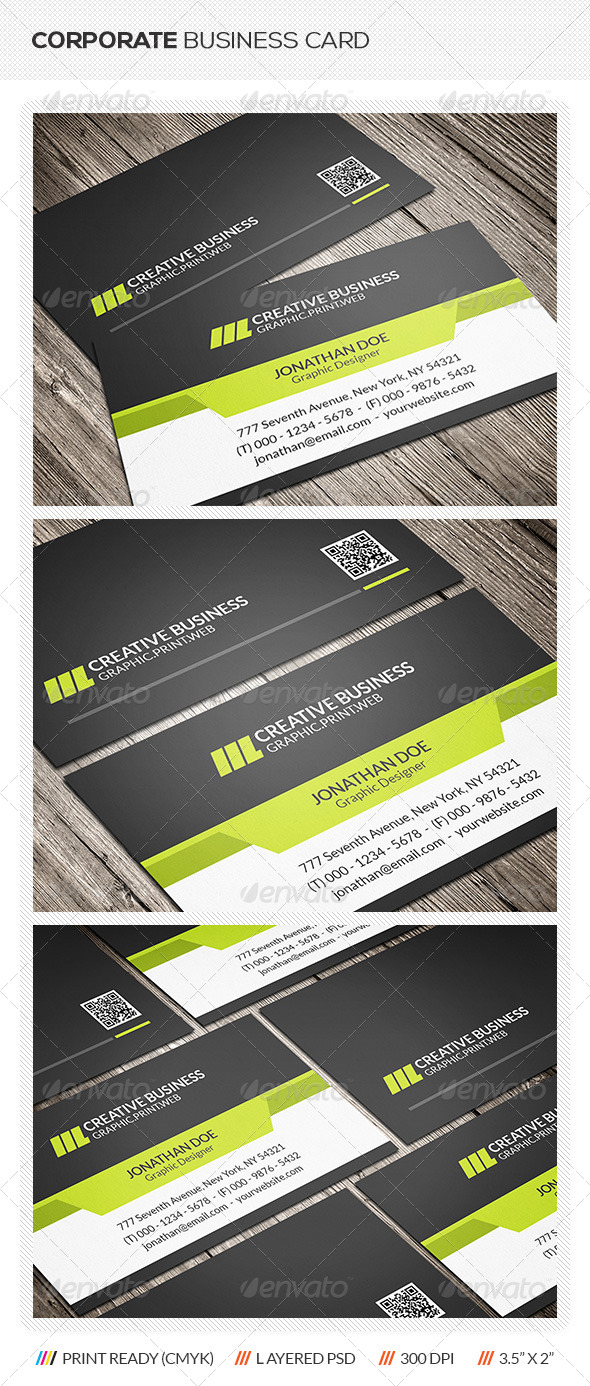 GraphicRiver Modern Business Card 6460543