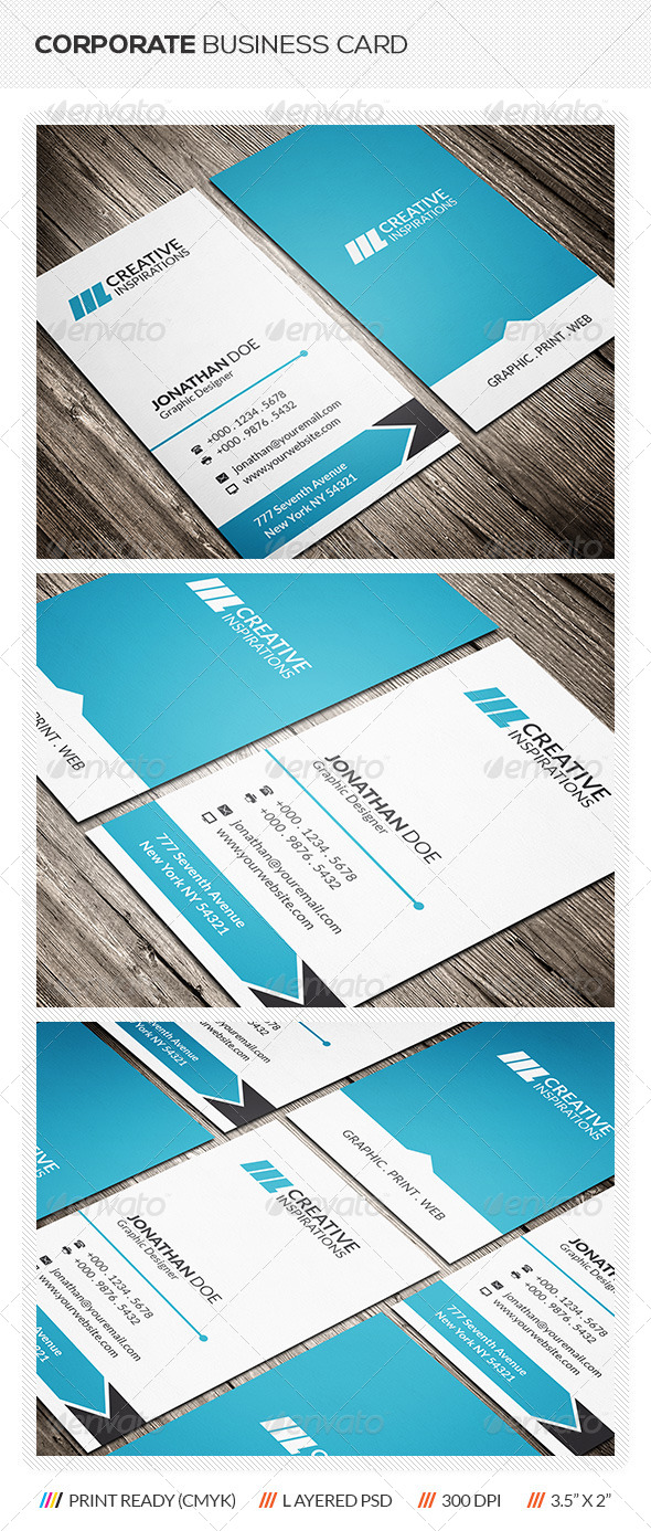 GraphicRiver Clean Business Card 6460705