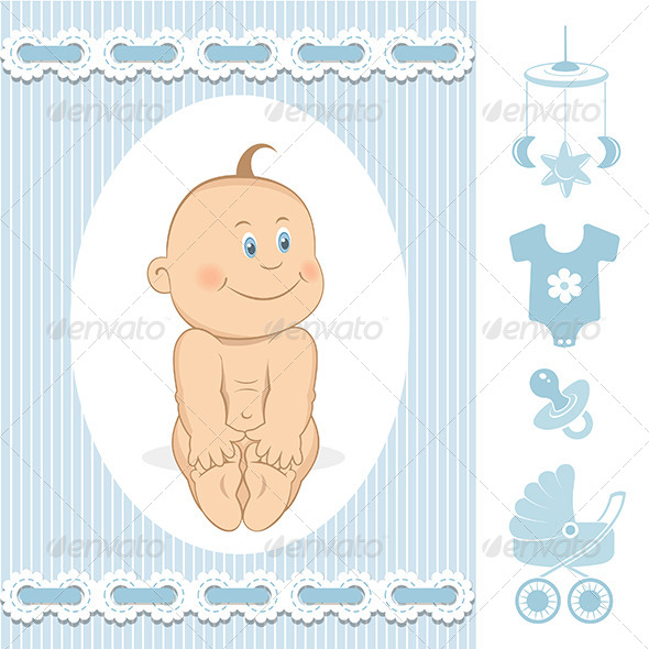 GraphicRiver Cute Baby Boy 6461357