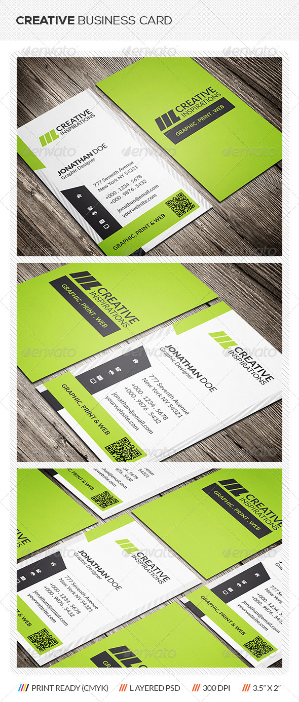 GraphicRiver Creative Business Card 6461377
