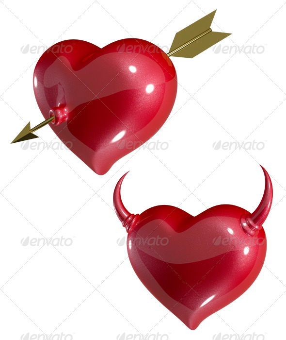 GraphicRiver Heart with Arrow 6461969