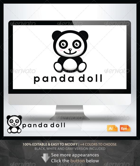 GraphicRiver Panda Doll 6462650