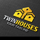 Twin Houses Logo - GraphicRiver Item for Sale