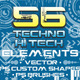 56 Techno & Hi Tech Elements v2 - GraphicRiver Item for Sale