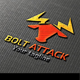 Bolt Attack Logo - GraphicRiver Item for Sale