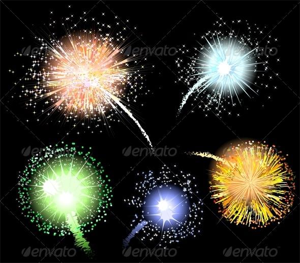 GraphicRiver Fireworks 6466338