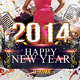 New Year Madness Party Flyer Template - GraphicRiver Item for Sale