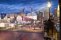 Pyrmont Bridge At Dusk - PhotoDune Item for Sale