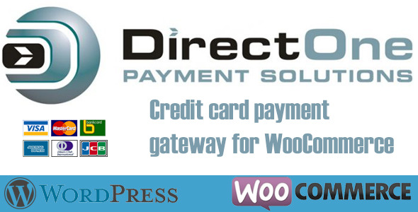 CodeCanyon DirectOne Credit Card Gateway for WooCommerce 6466843