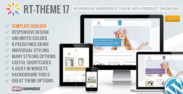 RT-Theme 17 Responsive Wordpress Theme - Business Corporate