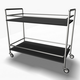 Serving Trolley Cart - 3DOcean Item for Sale