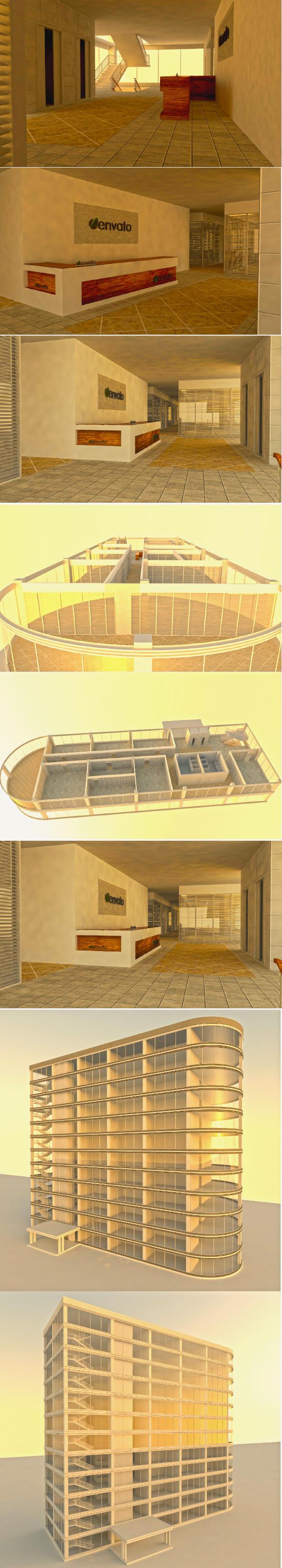 3DOcean Office Building 6469084