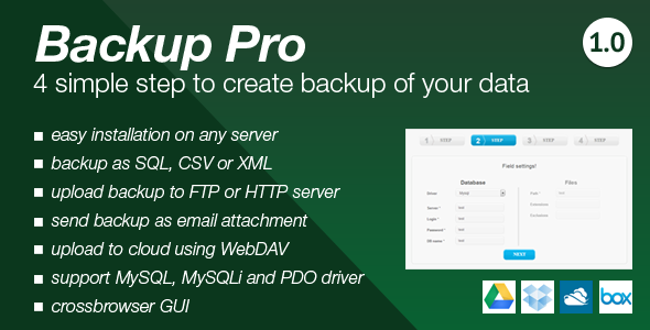 CodeCanyon Backup Pro 6469088