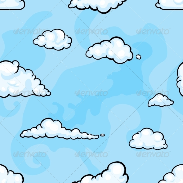 GraphicRiver Cloud Pattern 6469716