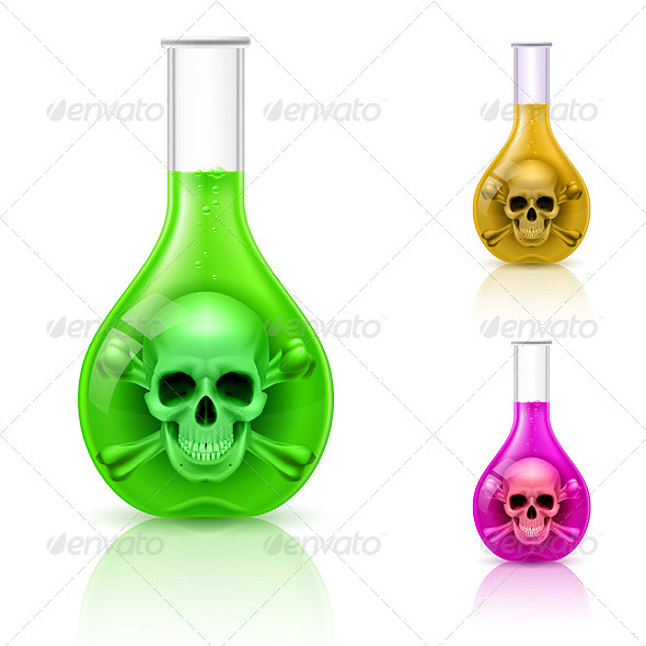 GraphicRiver Vials with Poison 6470249