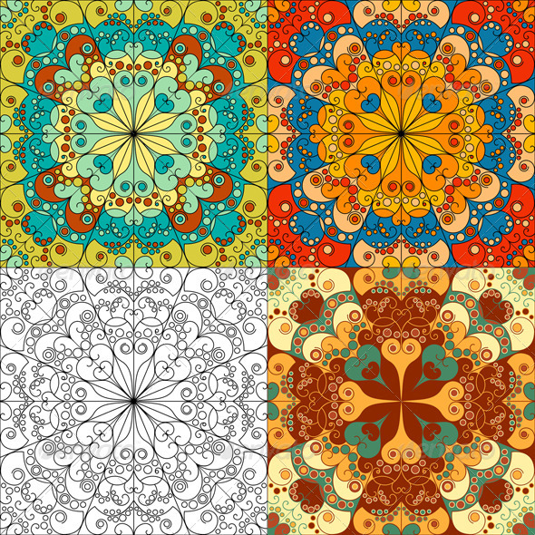 GraphicRiver Arabesque Backgrounds 6471110