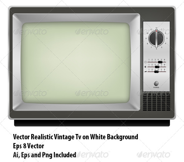 GraphicRiver Vintage Tv 6472345