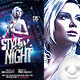 Flyer Style Girl Night - GraphicRiver Item for Sale