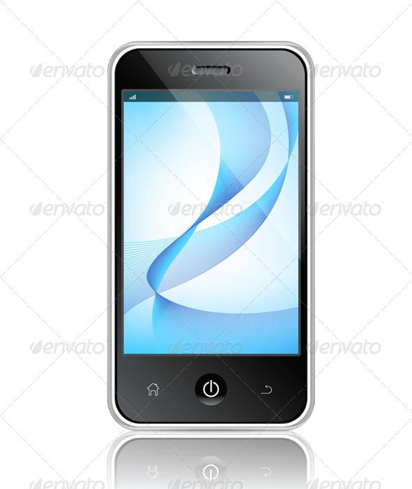 GraphicRiver Realistic Mobile Phone 6474026