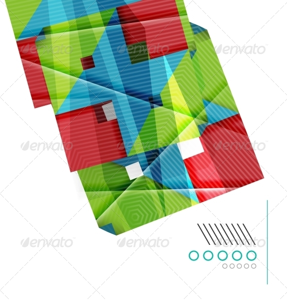 GraphicRiver Colorful Geometric Shape Design Template 6474387