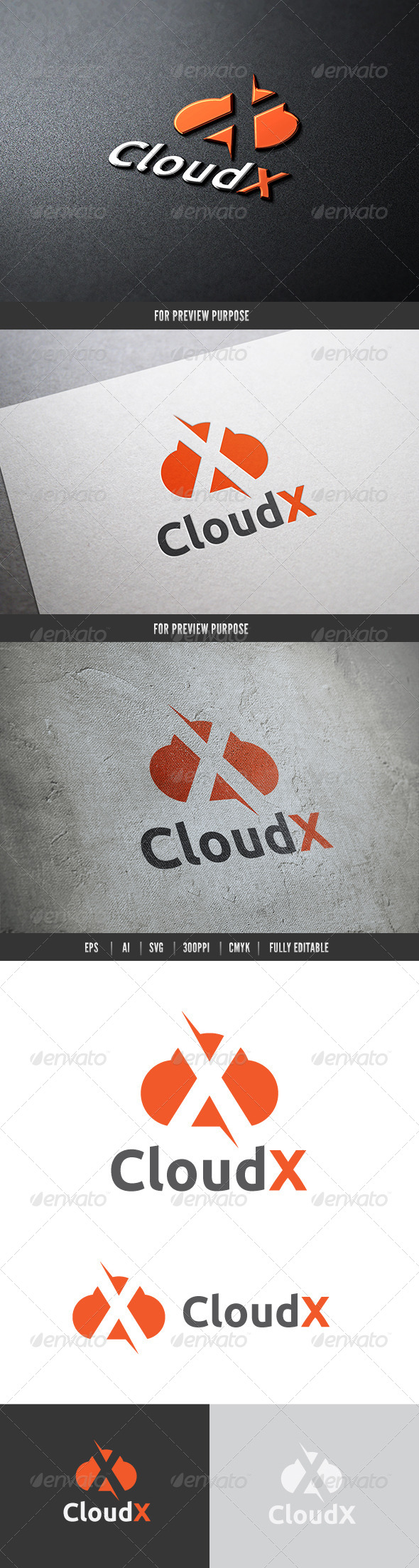 GraphicRiver Cloud X 6474434