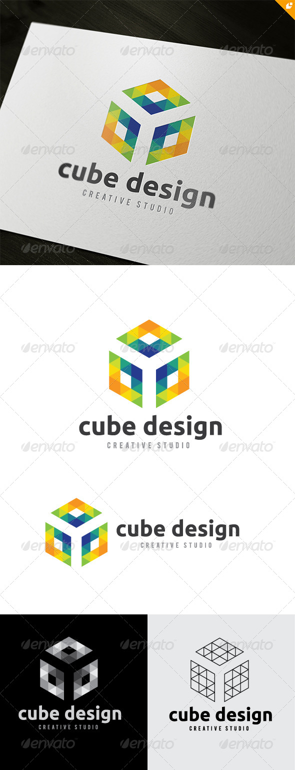 GraphicRiver Cube Design 6474504