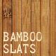 Bamboo Slatted Mat Texture - GraphicRiver Item for Sale