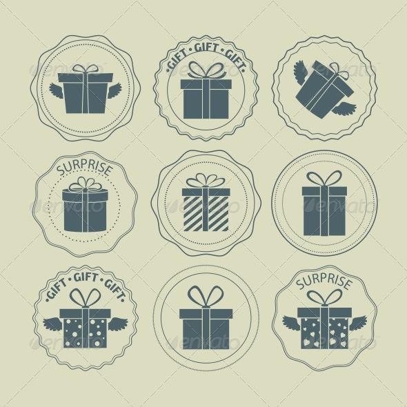 GraphicRiver Gift Boxes Stamp 6475782