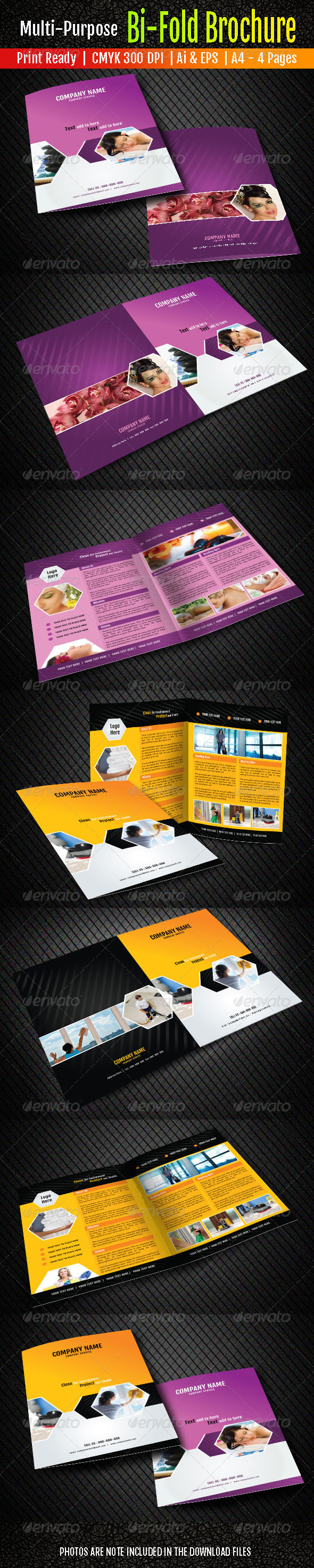 GraphicRiver Bi-Fold Brochure 6476210