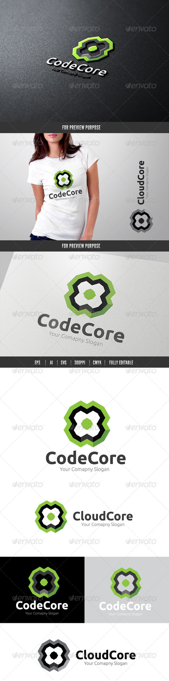GraphicRiver Code Core 6477475